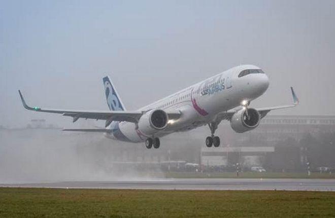Airbus A321neo увеличенной дальности совершил первый полет