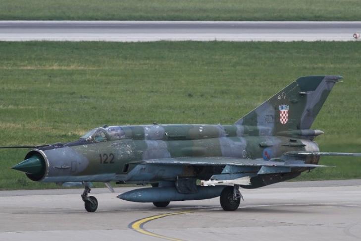 """""""Укрспецэкспорт"""" не получал претензий к ремонту хорватских истребителей МиГ-21"""