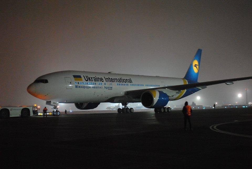 МАУ получила первый из четырех Boeing 777