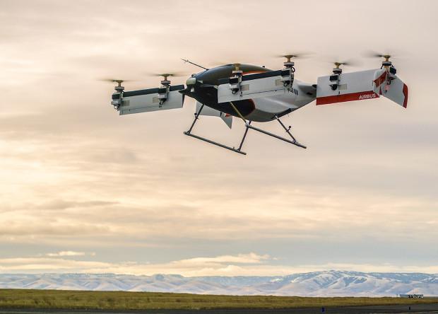 Беспилотное аэротакси Airbus совершило первый полет