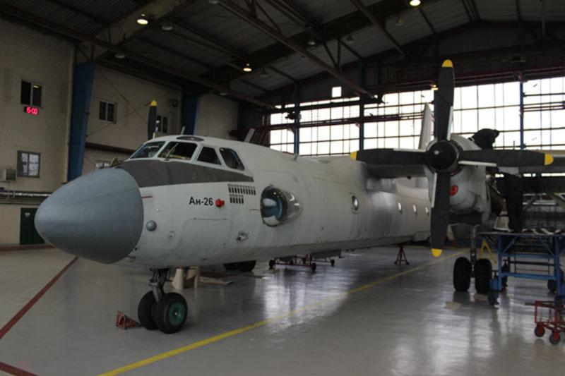 На ГП «Завод 410 ГА» пройдет техобслуживание Ан-26 ГНИЦ ВСУ