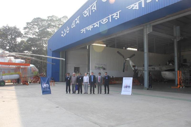 Украина открыла в Бангладеш сервисный центр по ремонту вертолетов