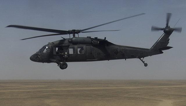 При крушении вертолета у берегов Тайваня пропали без вести шесть человек