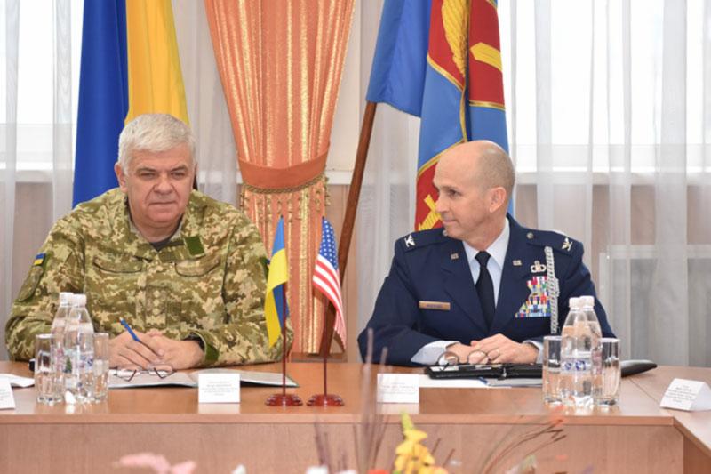 В Виннице обсудили перспективные направления сотрудничества между Воздушными Силами ВС Украины и США