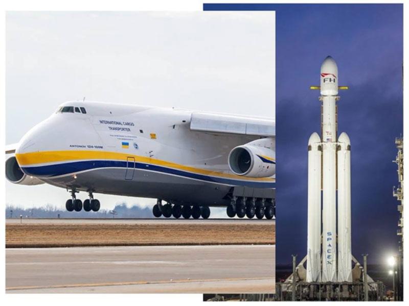 """Компания """"Антонов"""" принимала участие в подготовке запуска Falcon Heavy"""