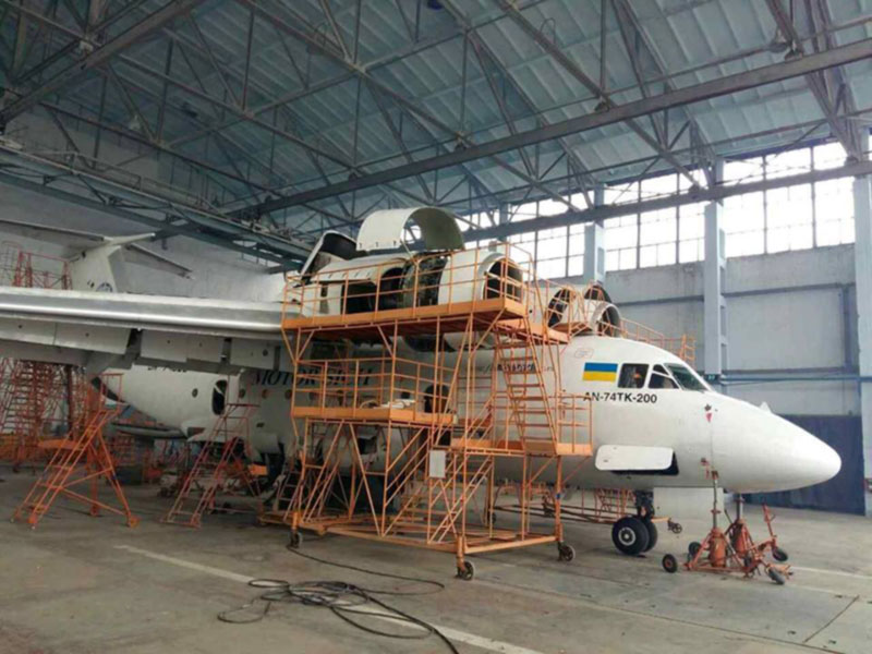 Восстановлено инвестирование в инфраструктуру Харьковского авиазавода