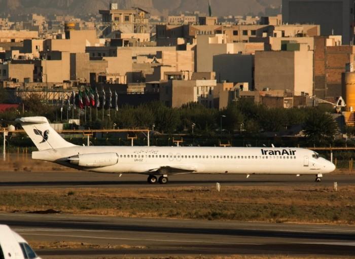 Еще одна авиакомпания прекратила летать из Украины в Иран