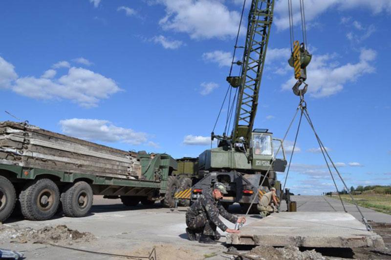 Украина активизировала восстановление аэродромной сети для военной авиации