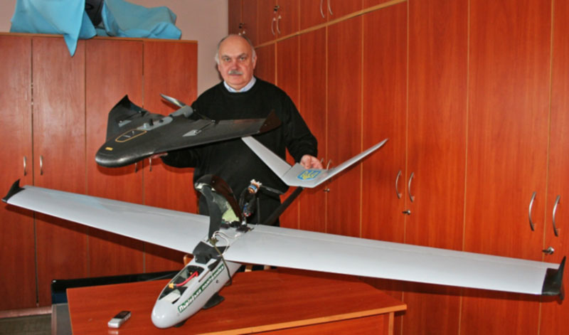 Украинские ученые разработали беспилотник для аэрофотосъемки
