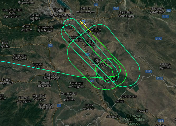 Самолет МАУ совершил аварийную посадку в Тбилиси