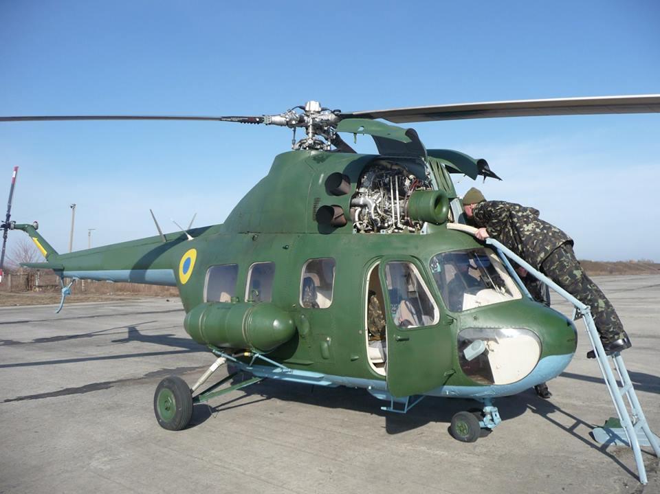 В отдельной бригаде армейской авиации состоялась очередная летная смена