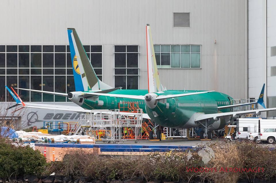 Boeing завершил сборку 737 MAX для МАУ