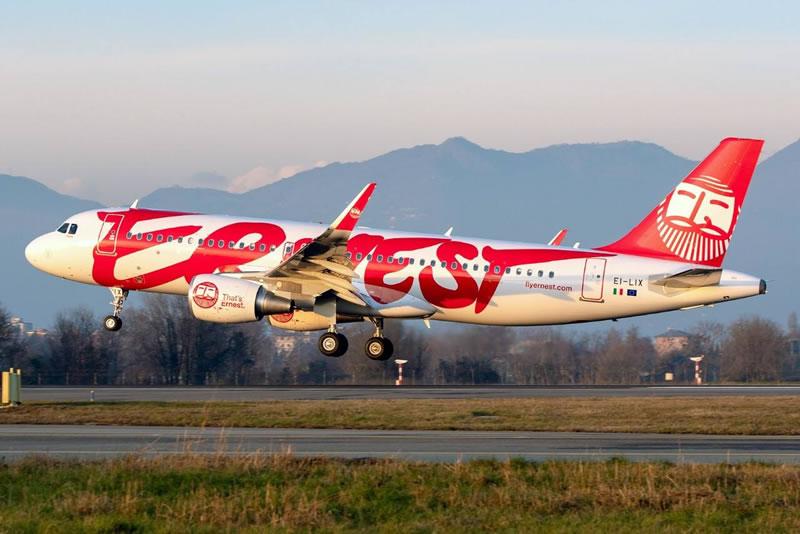 Ernest Airlines планирует запустить рейс из Киева в Тирану