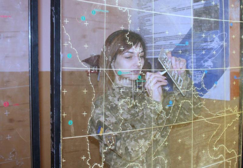 Я контролирую воздушное пространство Южного округа, - рядовая воздушных сил ВСУ Ярослава Калиновская