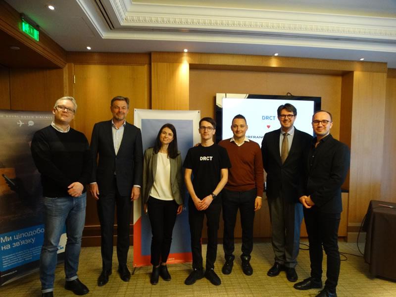Air France-KLM в партнерстве с NDC-агрегатором DRCT объявили об активизации продаж через NDC