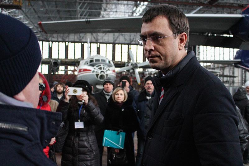 Министр инфраструктуры посетил Белоцерковский комплекс