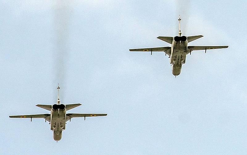 Состоялась очередная летная смена на Су-24