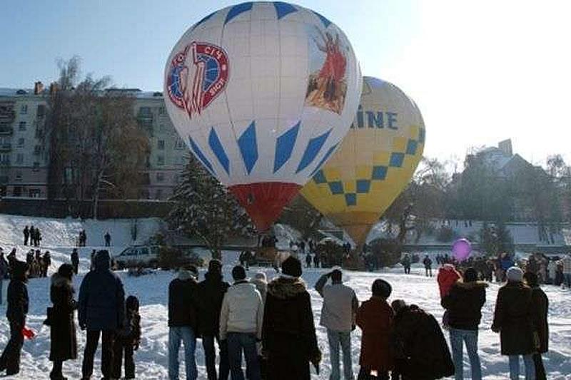 В Тернополе начался фестиваль воздушных шаров