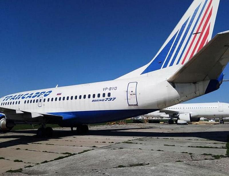 Арестованный Boeing