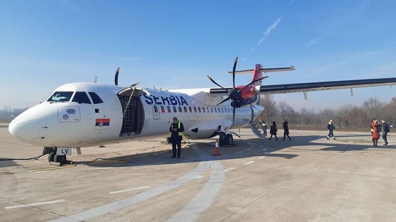 Рейсы из Сербии во Львов будут выполняться на ATR 72