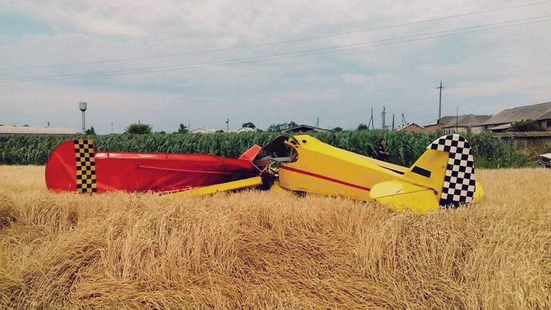 НБРГА завершило расследование катастрофы самолета в Оржицком районе