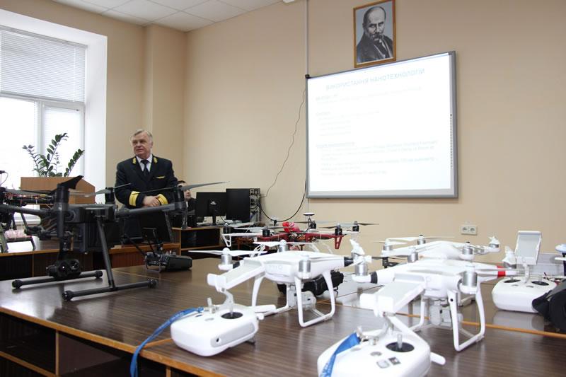 В Летной академии состоялся семинар по использованию БПЛА во время спасательных работ