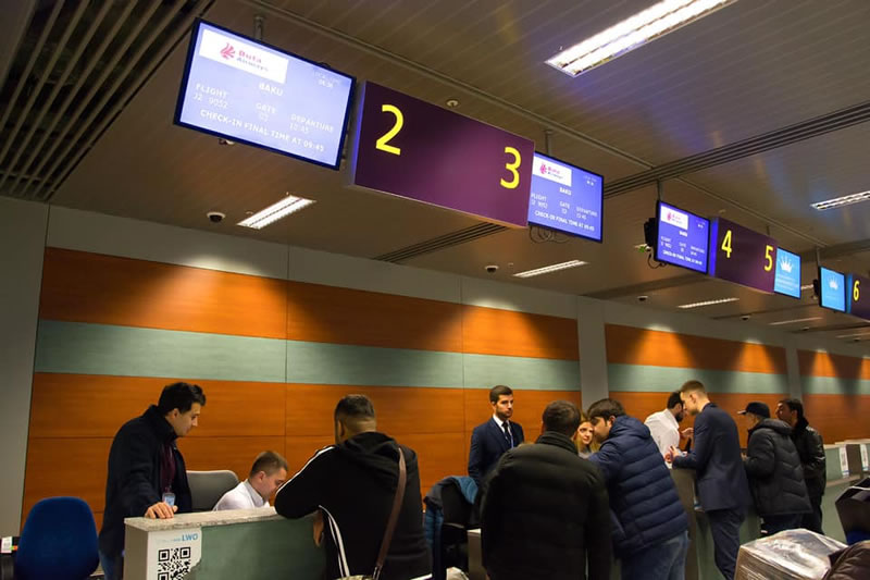 Аэропорт Львов значительно увеличил пропускную способность