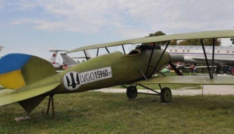 На аукционе продают макет самолета П.Франко