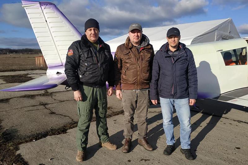 По Харьковской области теперь можно летать на попутных самолетах