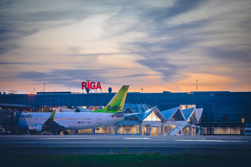 Аэропорт «Рига» начинает год с впечатляющего роста числа пассажиров на 12,2%