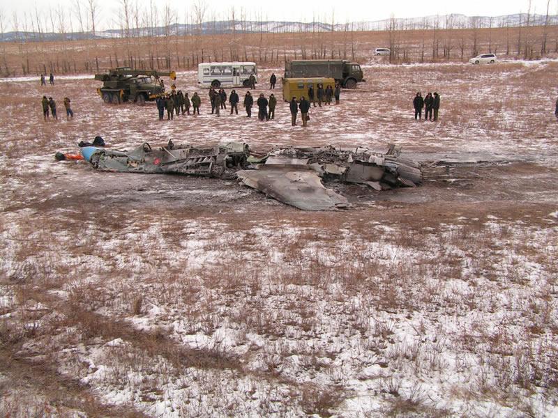Российская авиация раскручивается в полете