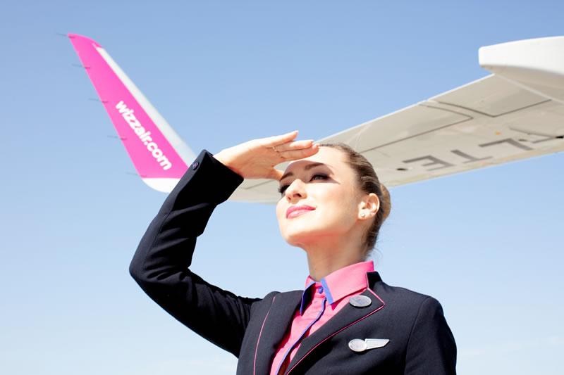 Wizz Air приглашает стать частью команды экипажа