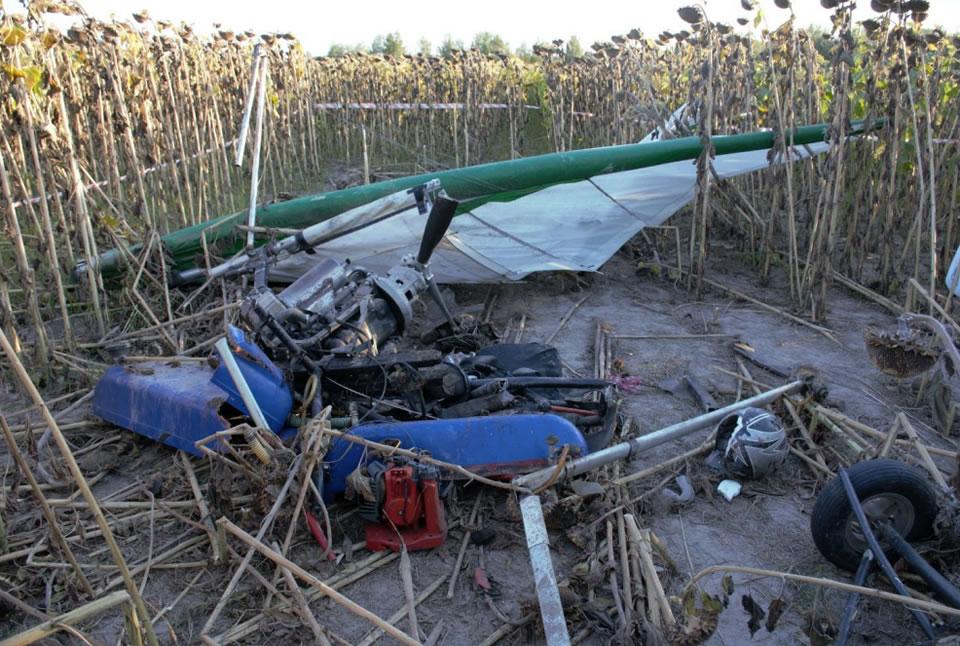 Комиссия завершила расследование катастрофы мотодельтаплана в Житомирской области