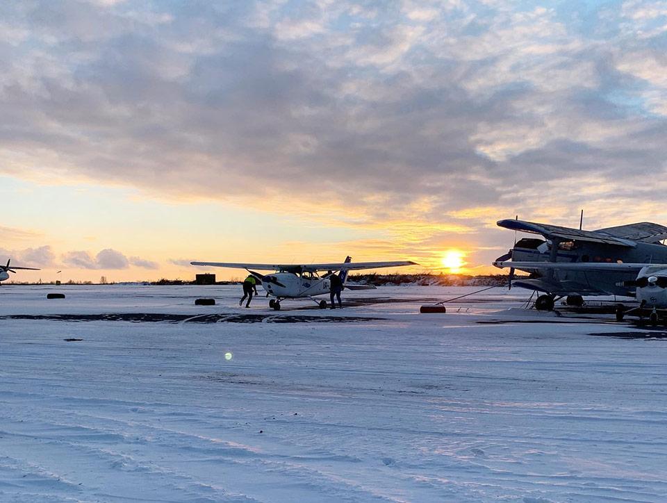 Аэропорт Хмельницкий получил сертификат на использование взлетно-посадочной площадки