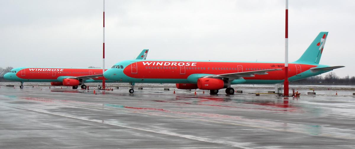 Авиапарк WINDROSE пополнился двумя новыми Airbus-321-231