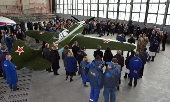 """В музее авиации появился самолет из фильма """"В бой идут одни старики"""""""