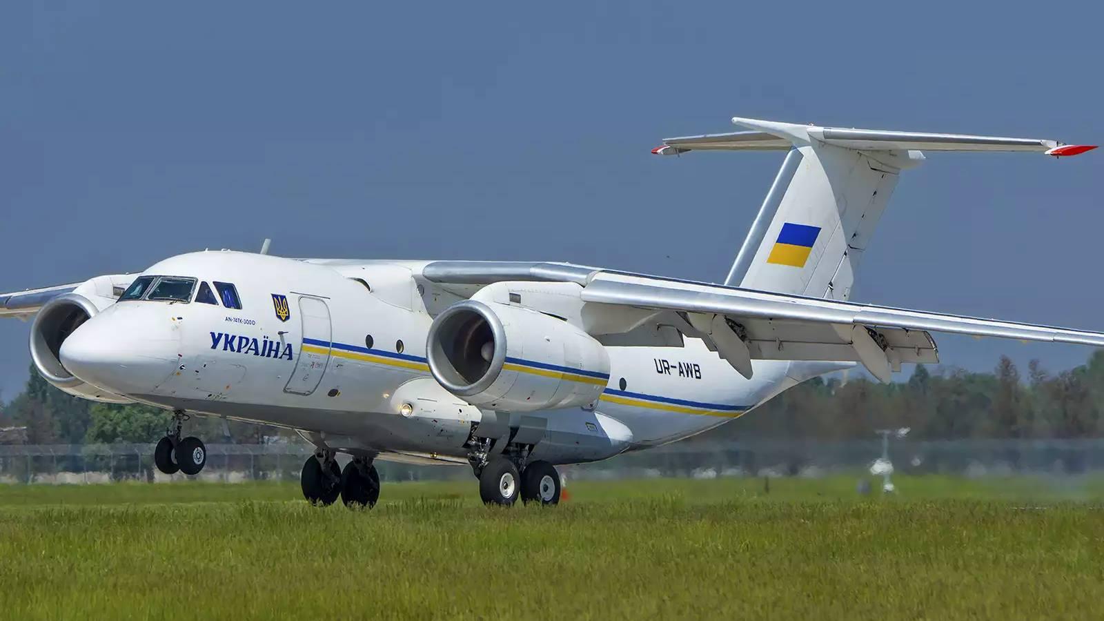 Харьковский авиазавод получил предоплату за самолет Ан-74