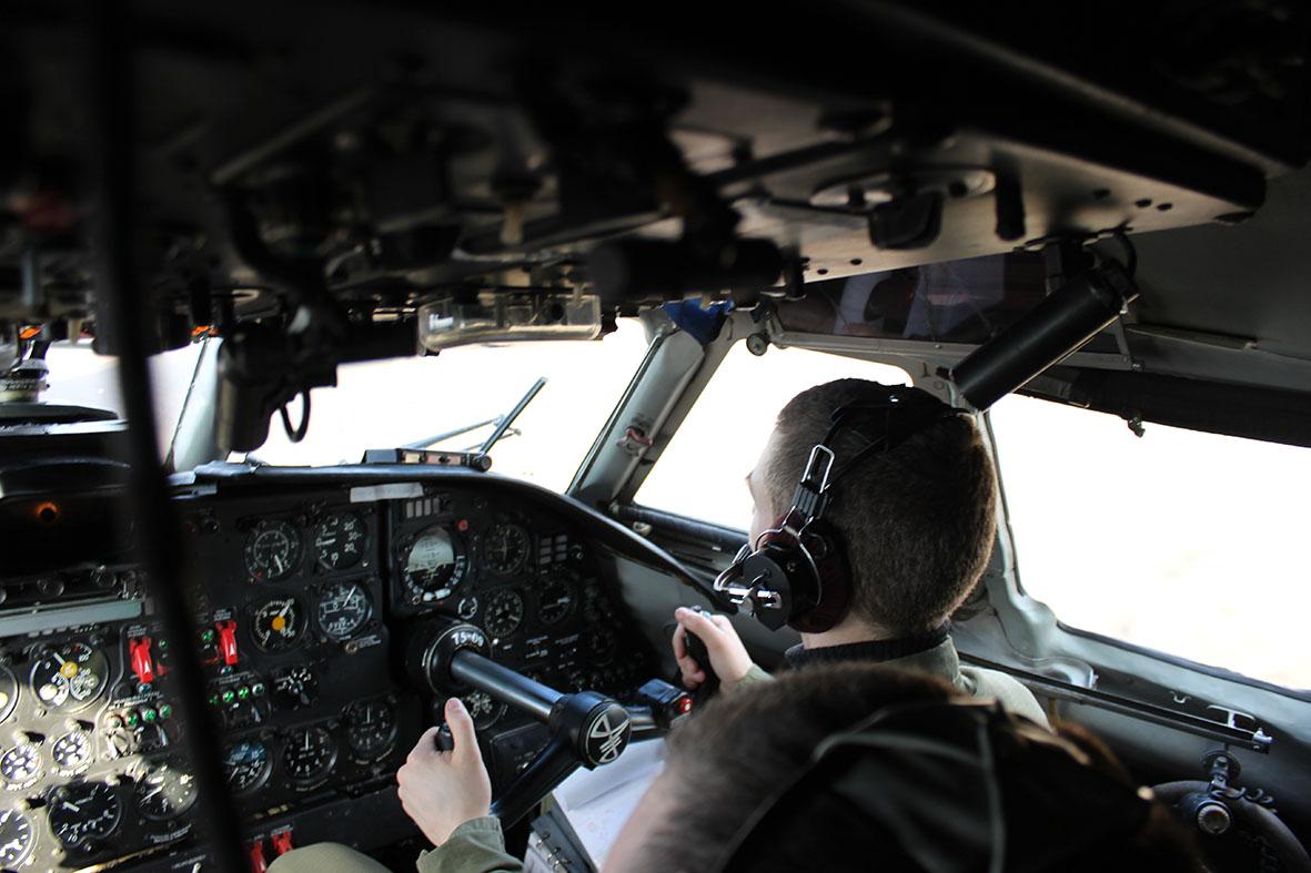 Профессия - летчик военно-транспортной авиации