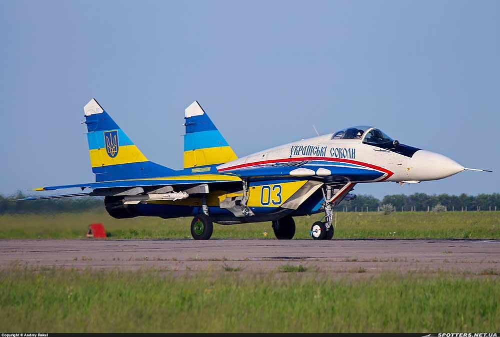Истребители МиГ-29 «Украинских соколов»