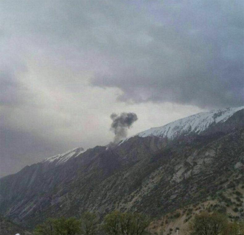 В Иране потерпел крушение пассажирский самолет