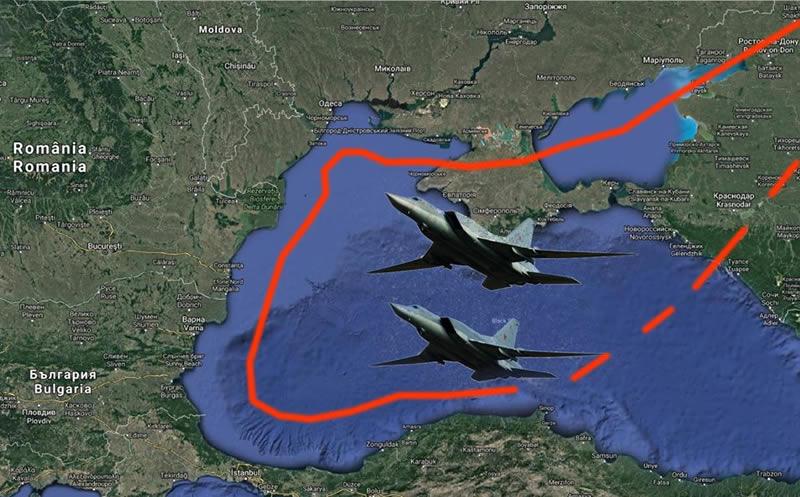 Украина привела ПВО в боеготовность из-за воздушных провокаций РФ