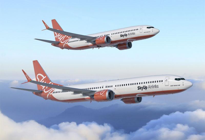 Авиакомпания SkyUp сделала ставку на Boeing