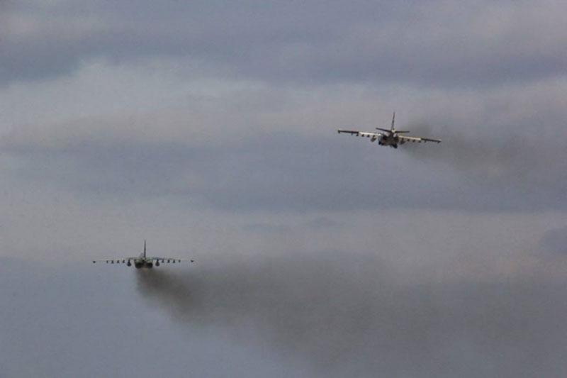 В Воздушных Силах продолжается комплекс тренировок по противовоздушной обороне