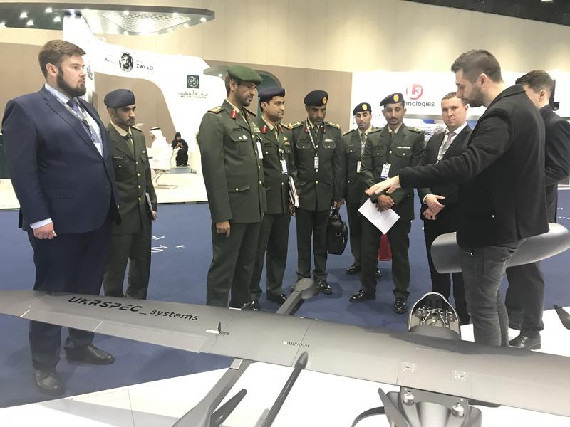 Украинские производители представили в ОАЭ тактические беспилотники