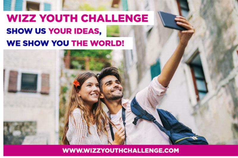 WIZZ AIR объявляет проведение второго молодёжного конкурса WIZZ YOUTH CHALLENGE