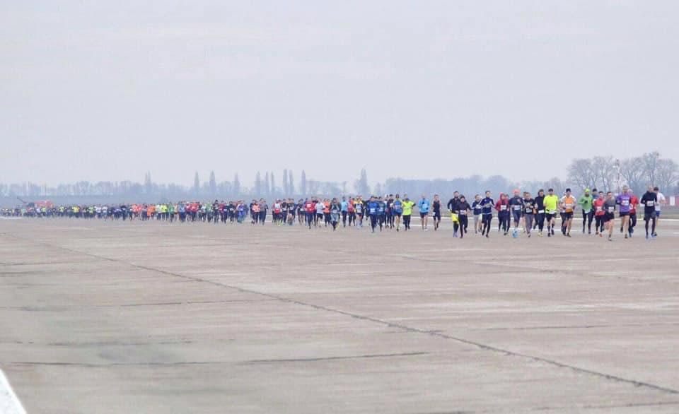 """В """"Борисполе"""" прошел марафон KBP Runway Run"""