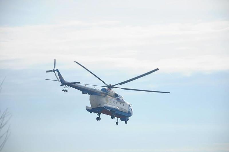 Николаевские морские пехотинцы учились десантироваться с вертолета
