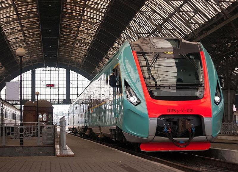 На линию Киев - аэропорт Борисполь поставят отечественный поезд
