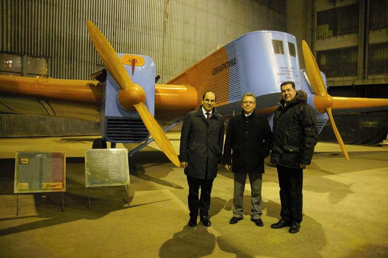 НАУ посетил президент Ernest Airlines