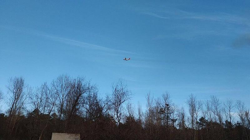 Авиация тушит пожар на Одесчине